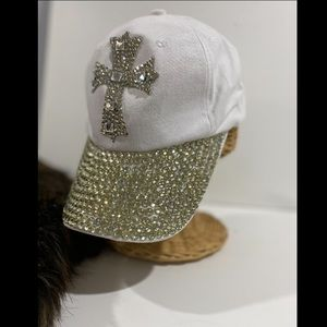 THROWBACK CHIC!  GLAM GIRLS DIAMOND BRIM HAT. NEW